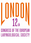12th Congress of the European Laryngological Society : 16 au 19 mai 2018 – Londres (ANGLETERRE)