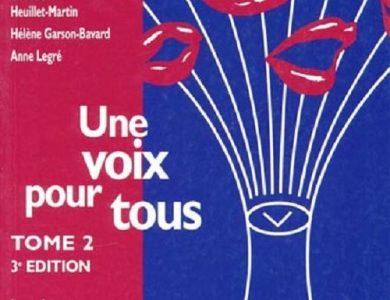 Une voix pour tous – Tome 2 : La voix pathologique (Hélène Garson-Bavard, Geneviève Heuillet-Martin, Anne Legré)