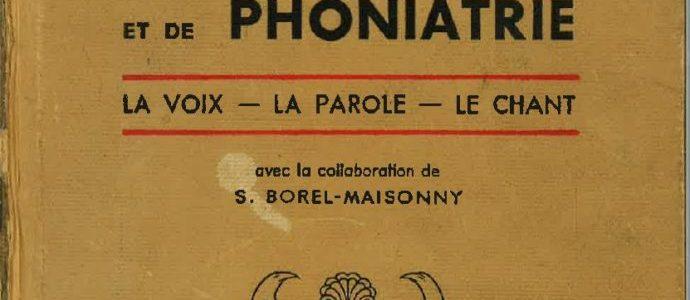 Traité pratique de Phonologie et de Phoniatrie (J. Tarneaud) – TELECHARGEMENT GRATUIT